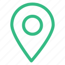 chat, gps, line, location, mail, maps, ui icon