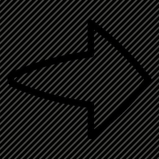 arrow, go, left, ui icon
