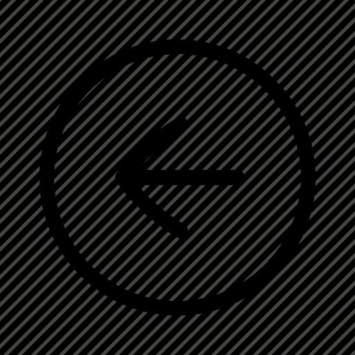 Arrow, click, left, ui icon - Download on Iconfinder