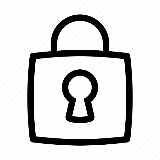 lock, protect, security, ui icon