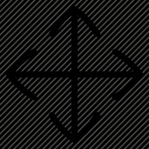 Adjust, drag, move, ui icon - Download on Iconfinder