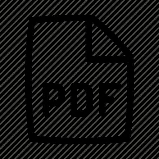 Document, pdf, ui icon - Download on Iconfinder