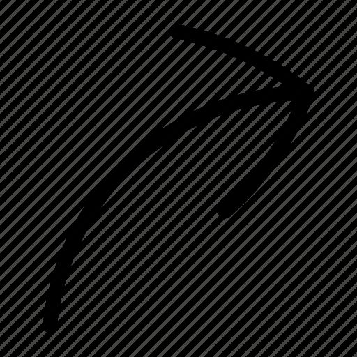 arrow, go, ui icon