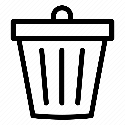 Can, delete, trash, trash can, ui icon - Download on Iconfinder
