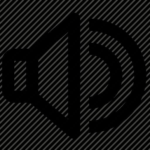 audio, configuration, control, settings, sound, speaker, volume icon