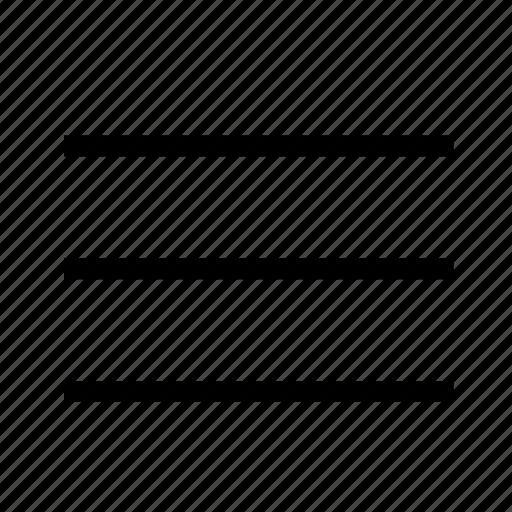 bar, chart, graph, line, list, menu, web icon