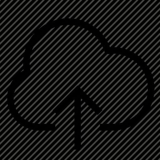 cloud, database, download, save, server, storage, upload icon