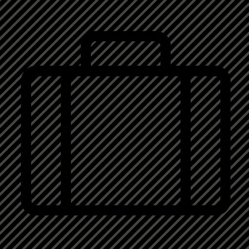 baggage, briefcase, business, luggage, portfolio, suitcase, travel icon