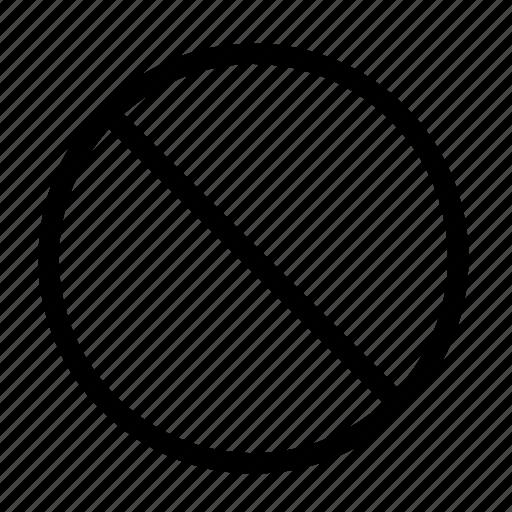 ban, cancel, close, delete, remote, remove, stop icon