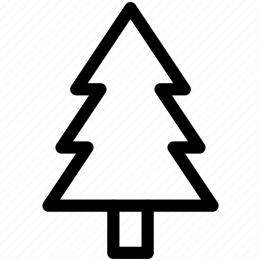 christmas, evergreen, green, nature, park, pine, tree icon