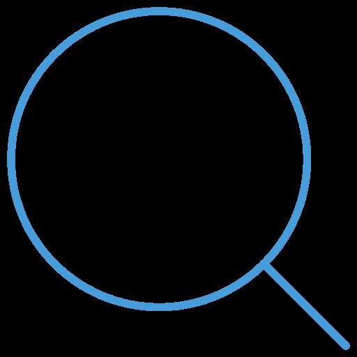 bar, blue, free, navbar, outline, search, ui icon
