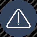 alarm, alert, dangerous icon