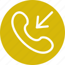 call, incoming, telephone icon