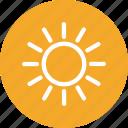 summer, sun, weather