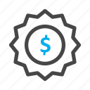 currency, dollar, money icon