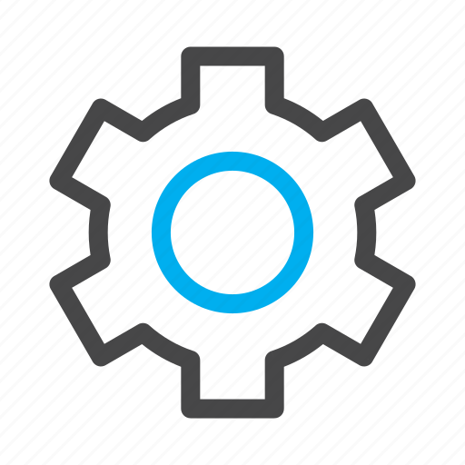 cog, gear, options, settings icon