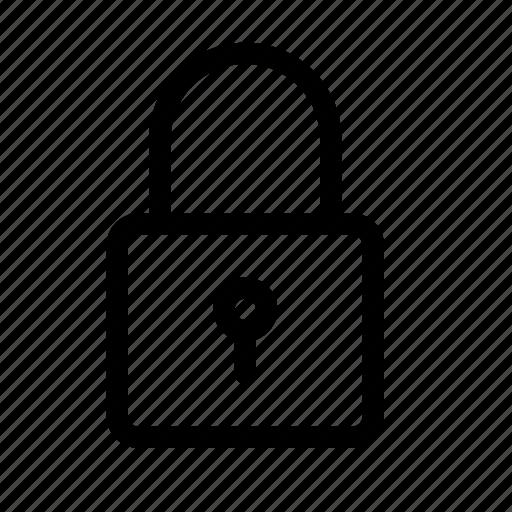 lock, locked, login, padlock, password, secure, security icon