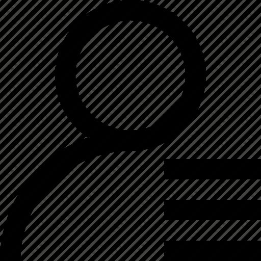 profile, ui, user icon