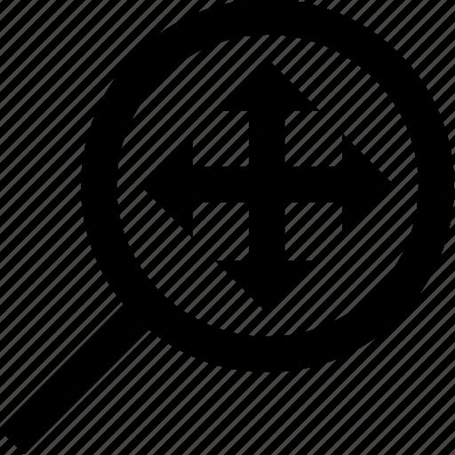 arrow, move, ui icon