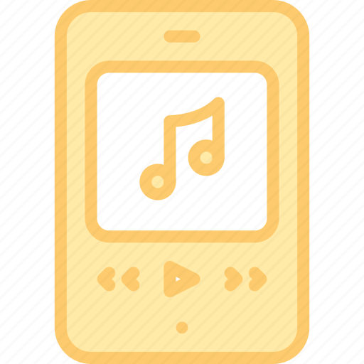 app, interface, media, mobile, play, song icon