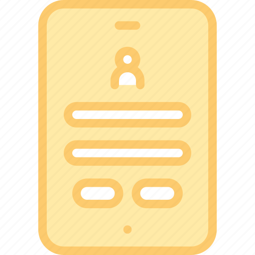 account, app, interface, login, mobile, secure, security icon
