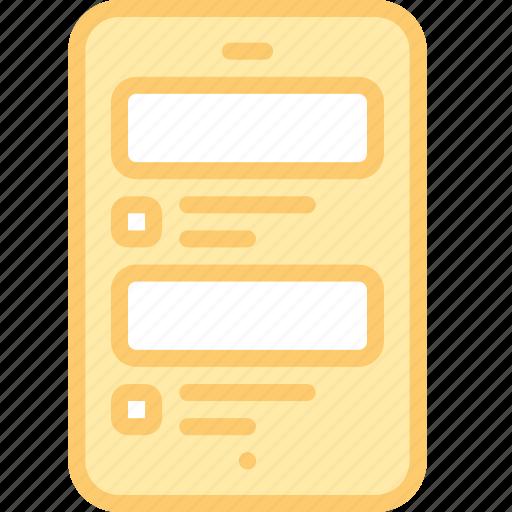 app, feed, interface, media, mobile, news, social icon