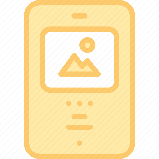 app, images, interface, media, mobile, photo icon