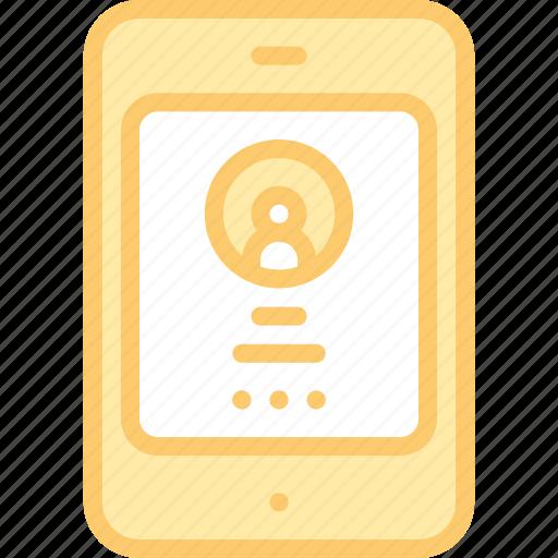 account, app, interface, login, mobile, porfile, usera icon