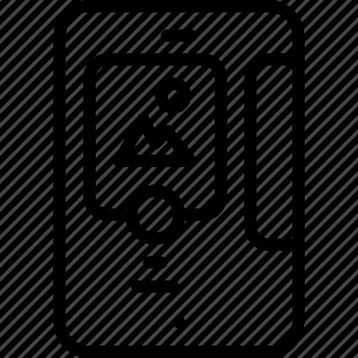 app, feed, media, news, rss, smartphone icon