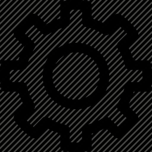 configuration, gear, options, settings, ui icon