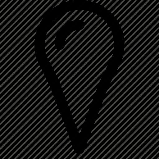 address, location, map, pin, ui icon