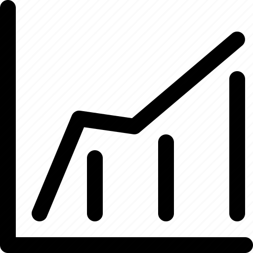 analytics, chart, sales, ui, web icon