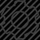 gear, options, preferences, setting, settings, ui icon