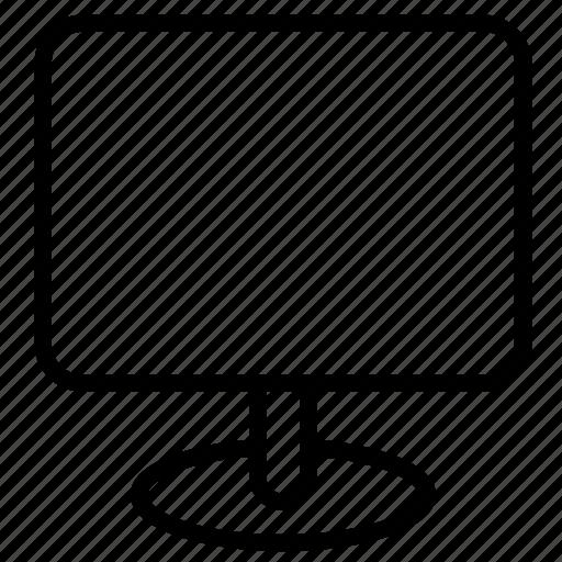 monitor, pc, screen, tv icon