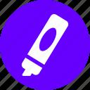 colors, draw, pen, pencil icon