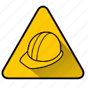 build, hat, helmet, sign, worker, worker hat, workman icon