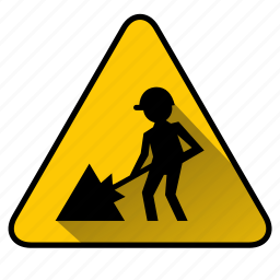 construct, construction, dig, digging, under construction, worker, workman icon