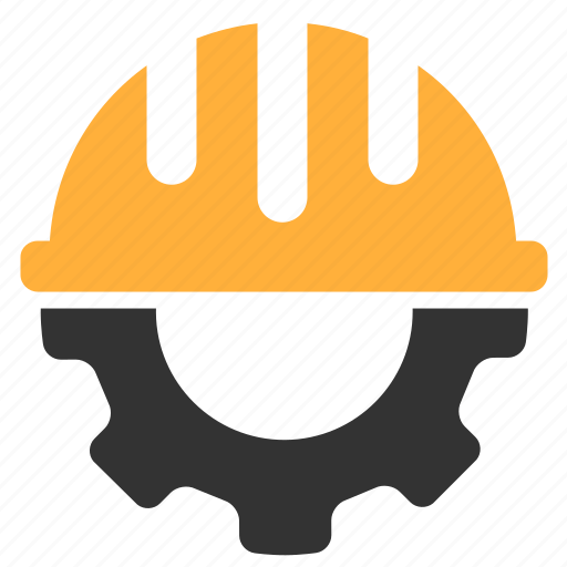 Gear, hardhat, helmet, settings icon | Icon search engine