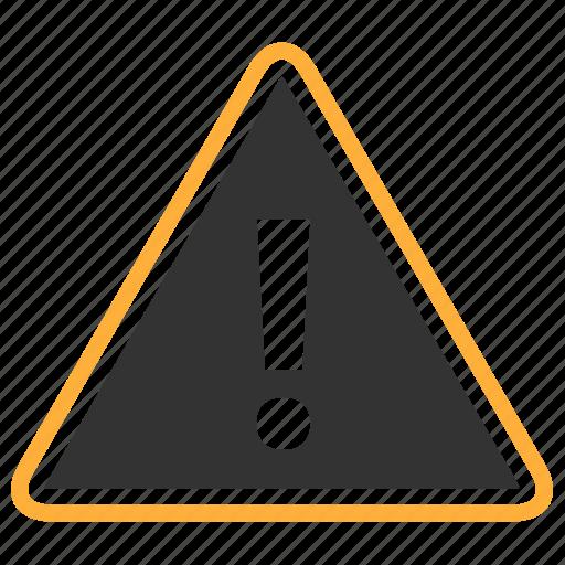 alert, notice, sign, warning icon
