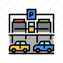 equipment, parking, multilevel, building, barrier