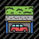 parking, equipment, multilevel, building, barrier