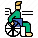 disability, disabled, handicap, handicapped, person, wheelchair