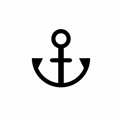 anchor, marine, nautical, ocean, sailing, sea, ship icon