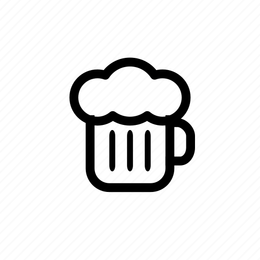 beer, beverage, drink, foam, food, glass, pub icon