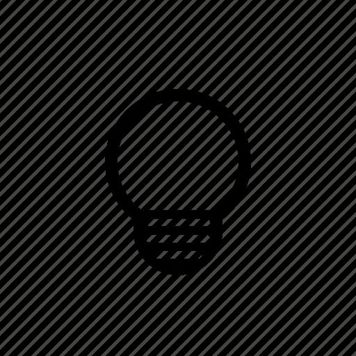 bulb, energy, idea, lamp, light, power, utility icon