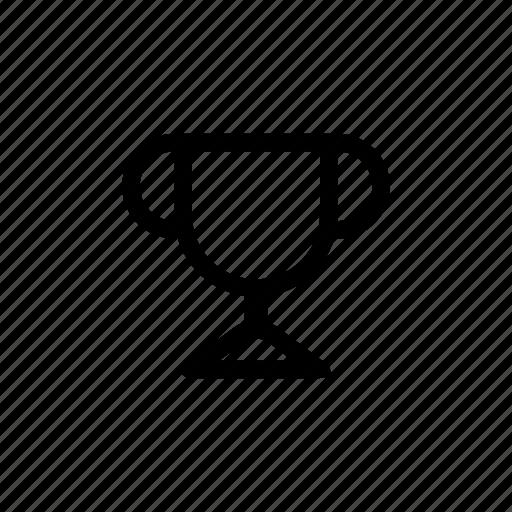 achievement, award, cup, prize, sport, trophy, winner icon