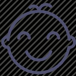 baby, child, infant, nweborn icon