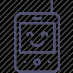 baby, monitor, radio icon