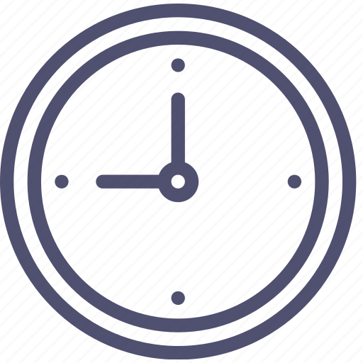 Date, clock, time icon