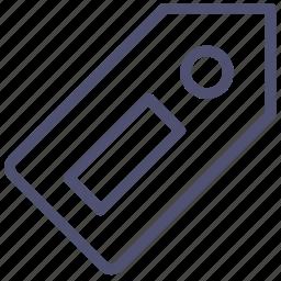 bookmark, price, tag icon